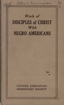 Work of Disciples of Christ with Negro Americans