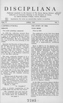Discipliana Vol-04-Nos-1-4-April-1944-January-1945 by Claude E. Spencer