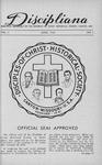 Discipliana Vol-07-Nos-1-4-April-1947-January-1948 by Claude E. Spencer