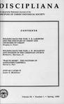 Discipliana Vol-53-Nos-1-4-1993