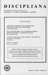 Discipliana Vol-55-Nos-1-4-1995 by Newell Williams