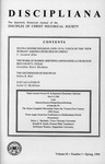 Discipliana Vol-56-Nos-1-4-1996 by Newell Williams