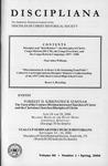 Discipliana Vol-66-Nos-1-4-2006