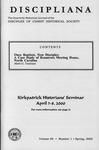 Discipliana Vol-60-Nos-1-4-2000