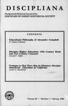 Discipliana Vol-59-Nos-1-4-1999