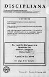 Discipliana Vol-58-Nos-1-4-1998
