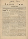 Gospel Plea Vol-05-27-July-4-1900 by Joel Baer Lehman