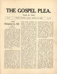 Gospel Plea Vol-10-36-September-23-1905 by Joel Baer Lehman