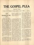Gospel Plea Vol-10-38-October-7-1905 by Joel Baer Lehman