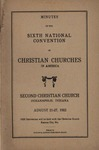 Minutes of the Sixth National Convention of Christian Churches in America