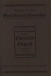 Report of the First General Convention of the Christian (Colored) Churches in the U. S. A.
