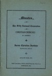 Minutes of the Fifth National Convention of Christian Churches in America