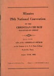 Minutes 29th National Convention of the Christian Church (Disciples of Christ)