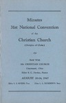 Minutes of the 31st National Convention of the Christian Church (Disciples of Christ)
